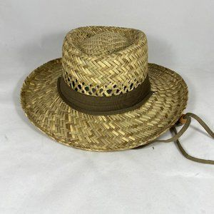 Dorfman Pacific Boater Style Straw Hat